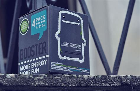 energy drink jaw booster energy drink 4 pack box on behance