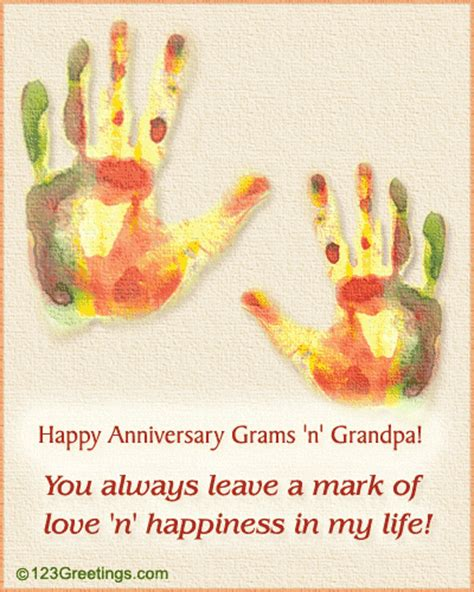 Wedding Anniversary Wishes For Grandparents by Wish For Your Grandparents Free Family Wishes Ecards