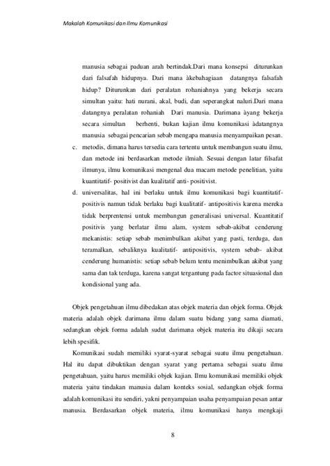 Filsafat Komunikasi Tradisi Dan Metode Fenomenologi filsafat komunikasi
