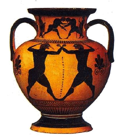 antico vaso greco vasi greci