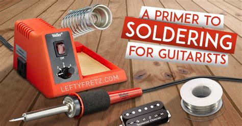 what is the best soldering iron for guitar wiring