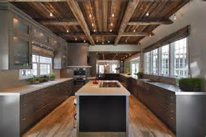 Modern Rustic Kitchen by Defining Elements Of The Modern Rustic Home