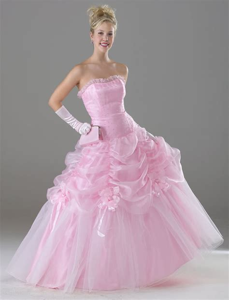 Wedding Dress Pink by Various Kinds Of Wedding Dresses With New Models Pink
