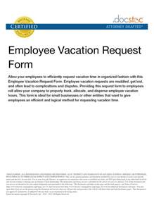 Vacation Request by Best Photos Of Vacation Leave Request Letter Vacation Leave Letter Sle Vacation Leave