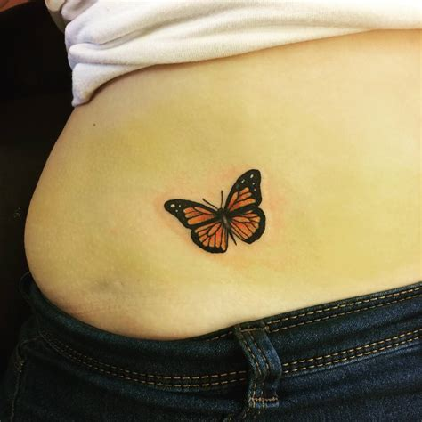 pelvis tattoo butterfly tattoos on hip for www pixshark