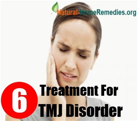 how to treat tmj disorder 6 treatment for tmj disorder