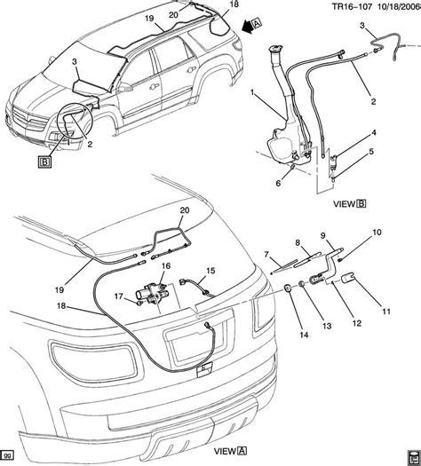 gmc acadia interior parts diagrams downloaddescargarcom