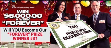 Pch Win Forever - will you become our third 5 000 a week quot forever quot prize winner pch blog