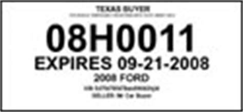 printable dealer tags texas dealer temporary license plate car interior design
