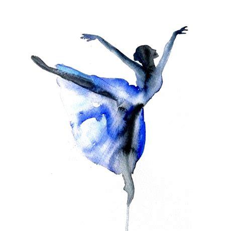 ballet color ballerina modern dancer pencil and in color