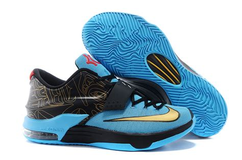 kd new year shoes 2015 cheap kd 7 blue captain america mens shoes nike 2015