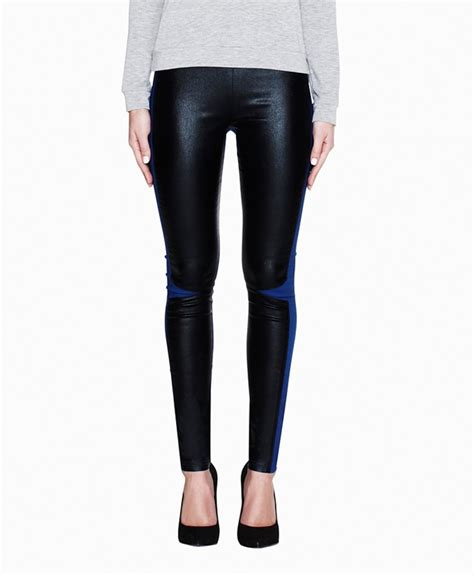 Two Tone Legging two tone clothes gems bits