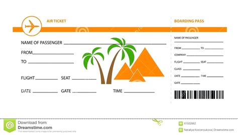 plane ticket template for gift template flight ticket template