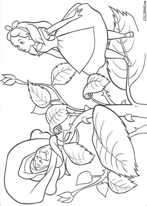 printable alice in wonderland flowers coloring page alice in wonderland roses coloring me