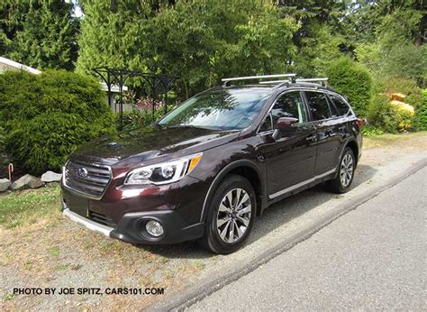 brilliant brown pearl subaru 2017 outback exterior photographs