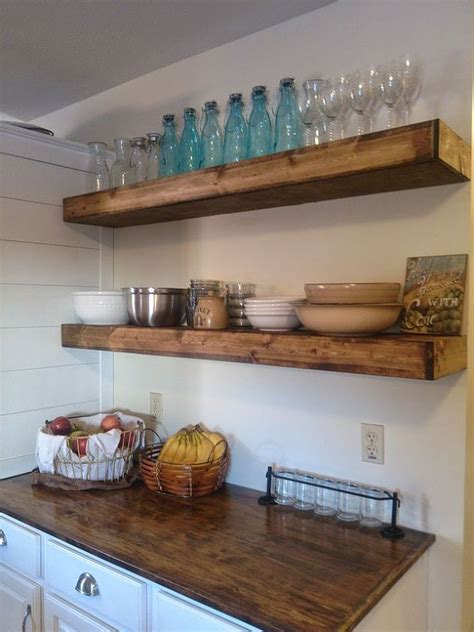 how to take down kitchen cabinets 20 diy floating shelves after taking down a bay of