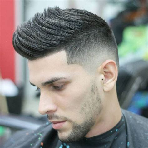 haircuts fade on side thick on top 21 short sides long top haircuts 2017 men s haircuts