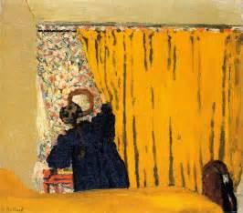 the yellow curtain the yellow curtain painting edouard vuillard