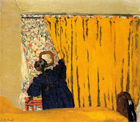 the yellow curtain the athenaeum the yellow curtain 201 douard vuillard