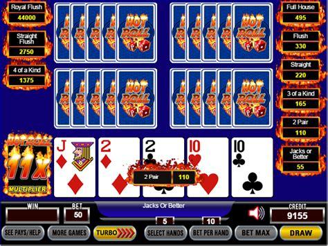 hot roll poker