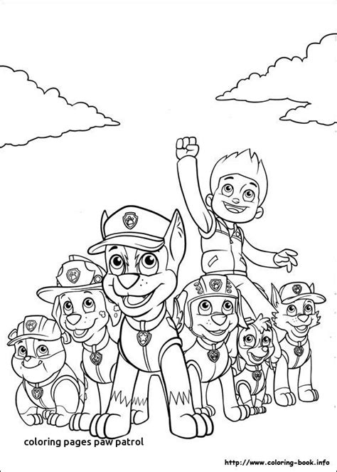 nick jr draw and play coloring pages coloring pages paw patrol landpaintball com