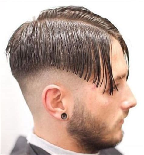 male center parts hair mens fade haircuts 54 cool fade haircuts for men and boys