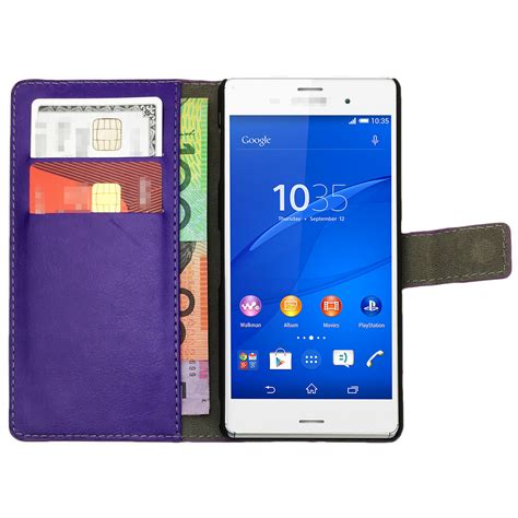 Sony Xperia M2 Premium Leather Flip Stand Casing Cover premium leather flip wallet stand cover for sony xperia z1 z2 z3 z5 compact ebay