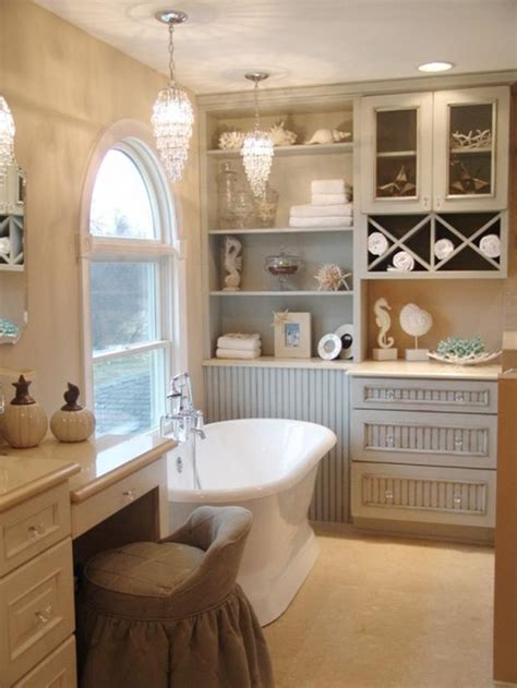 cottage tub charming cottage style bathroom retreat with coastal