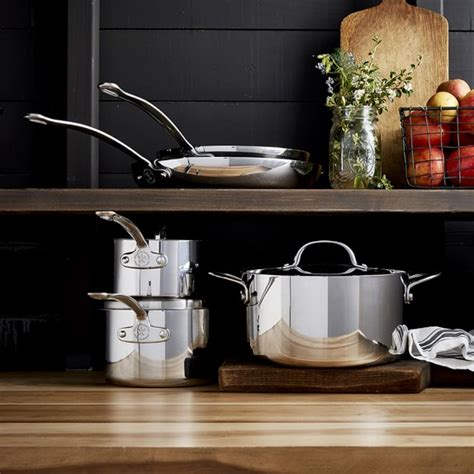 Williams Sonoma Kitchen by Williams Sonoma Open Kitchen Stainless Steel 10