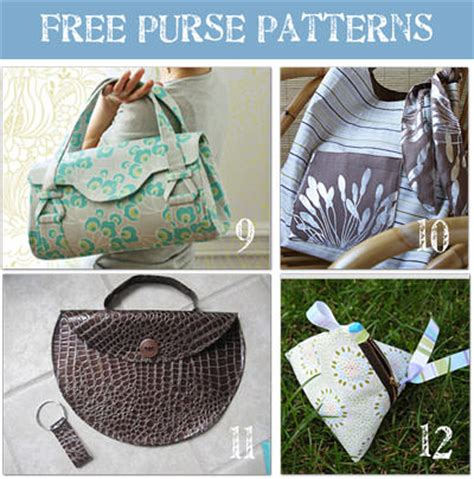 pattern making handbags 24 beautiful purse patterns tip junkie