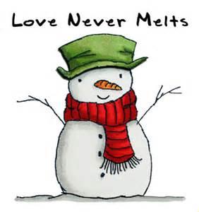 snowman love adamsart