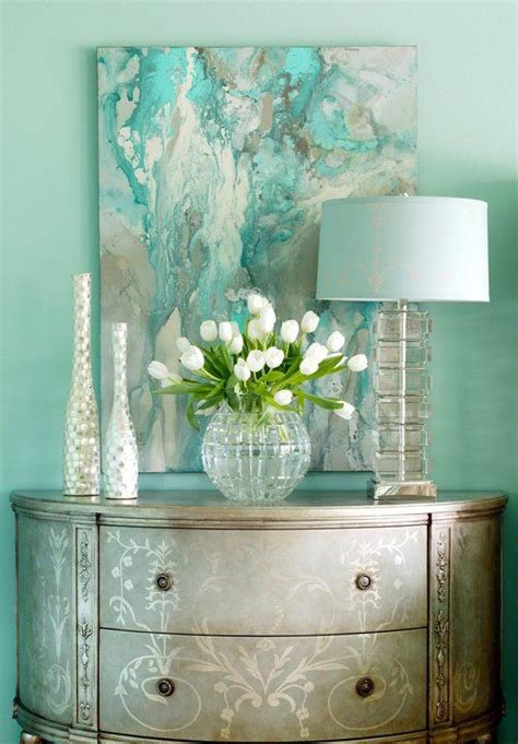 turquoise home decor ideas 25 best ideas about turquoise painting on pinterest