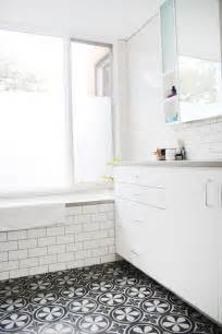 cococozy this or that mosaic tile bathroom floors