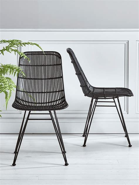 Rattanstühle by Best 25 Rattan Dining Chairs Ideas On Dining
