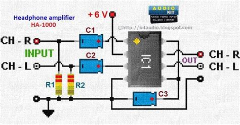 Ic Tda 2003 Ic St Audio Lifier audio kit tda2822m stereo headphone lifier