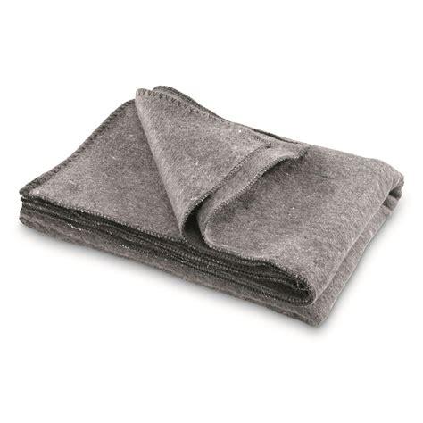 Decke Aus Wolle by Nato Surplus Wool Blanket Like New 679618