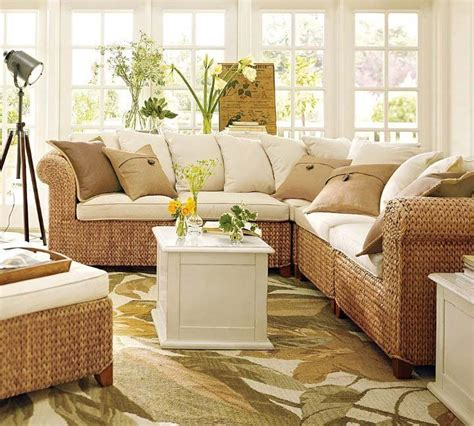 Seagrass Sectional Sofa Wicker Sectional Home For The Home Pinterest