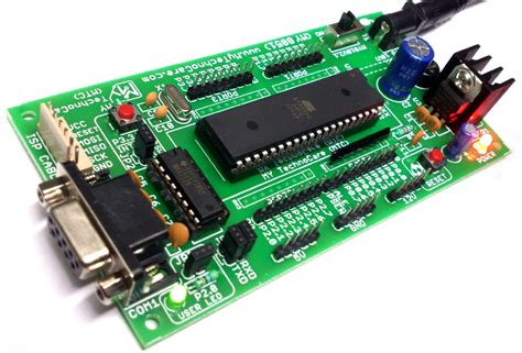 Ic Mikro Kontroller Atmel At89s51 learn buy atmel 8051 microcontroller project development board kit my technocare