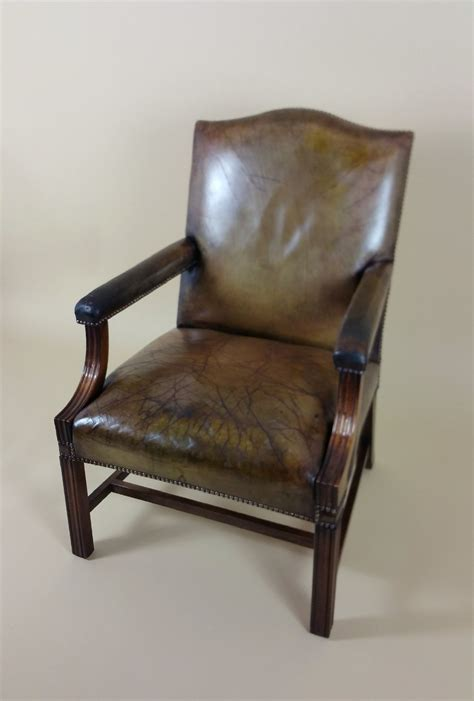 vintage armchair styles georgian style mahogany gainsborough armchair 355565