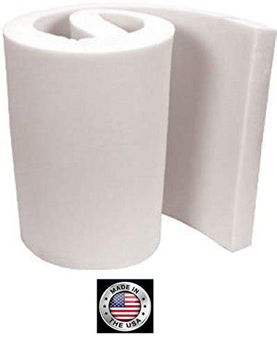 6 upholstery foam foamtouch upholstery foam cushion 6 l x 30 w x 72 h