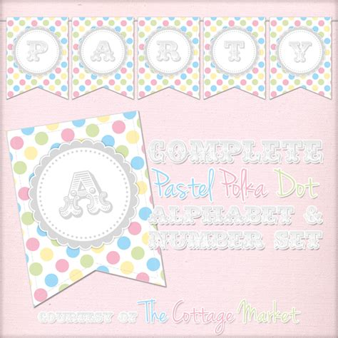 free printable whole alphabet banner free printable whole alphabet primary party polka dot