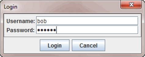 java swing dialog 3 steps to create login dialog in java swing