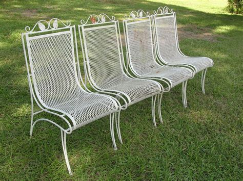 vintage wrought iron patio furniture modern popular