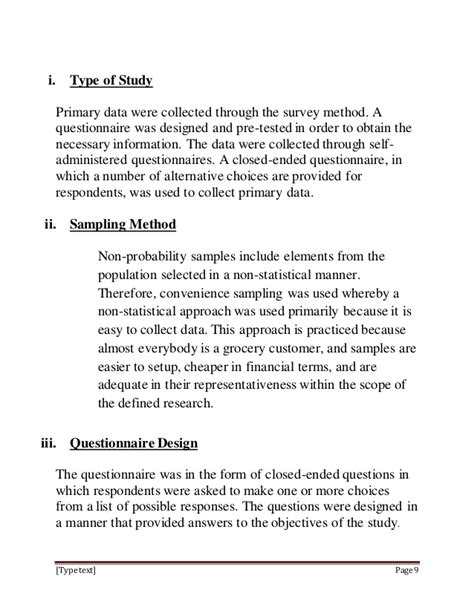 store layout questionnaire impact of retail store design and layout on consumer 1
