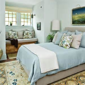 Guest Bedroom Blue Light Contemporary Bedroom By Kearns
