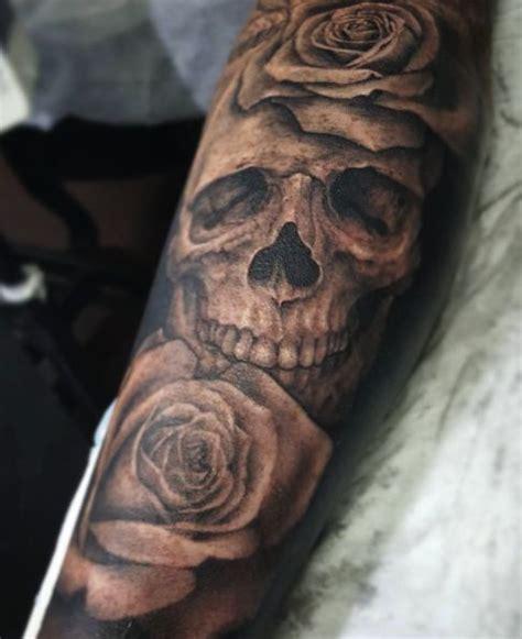 skull n rose tattoo best 25 skull tattoos ideas on mandala
