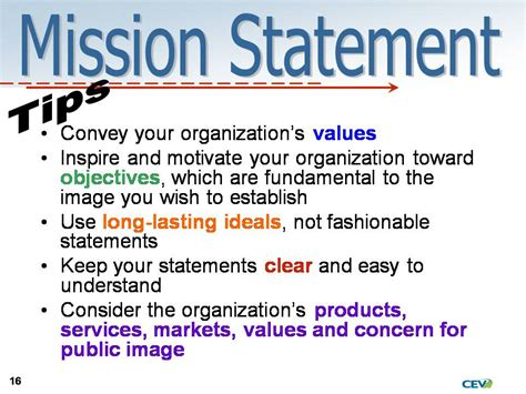 statement of means template company vision statements template best template collection