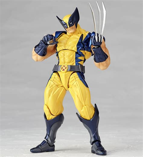 figure wolverine revoltech wolverine figure the awesomer