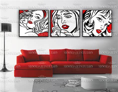 cuadros abstractos de picasso cuadros abstractos modernos blanco negro y rojo imagui