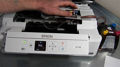 epson xp 225 reset key ciss continuous ink system fits epson xp335 xp 335 youtube